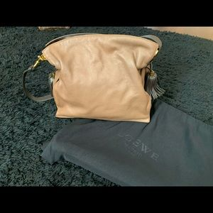 Authentic Loewe Soft Leather 2 Way Ibiza Bag